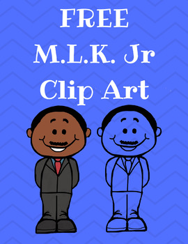 FREE Martin Luther King Jr. Clip Art