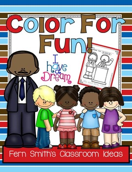 Martin Luther King Jr Day Coloring Pages Freebie