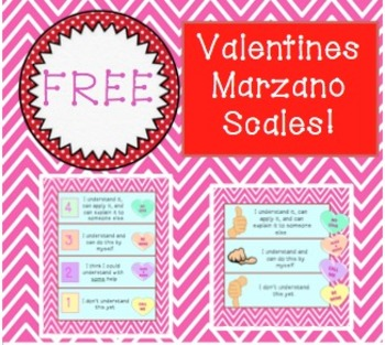 FREE Marzano Valentines Scales!