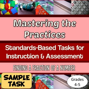 FREE Mastering the Practices assessment task – fraction of a number