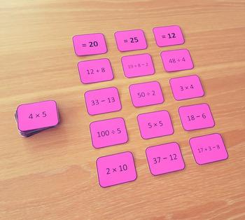 FREE Math Equation Sorts