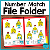 FREE Math File Folder - Special Education and Autism Resource
