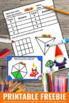 FREE Printable Fraction Task Cards 3rd Grade Math Review Games Scavenger Hunt