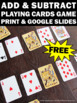 FREE Download Addition and Subtraction Game 1st Grade Math Centers