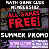 FREE Math Games for Middle School