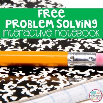 FREE Math Interactive Notebook Activities