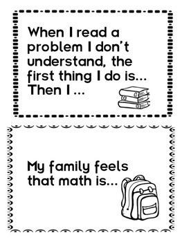 Math Journal Prompts: CUSTOMIZABLE