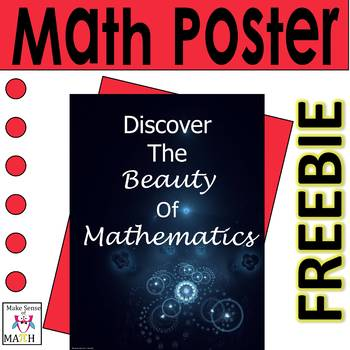 FREE Math Poster : Discover the Beauty of Mathematics