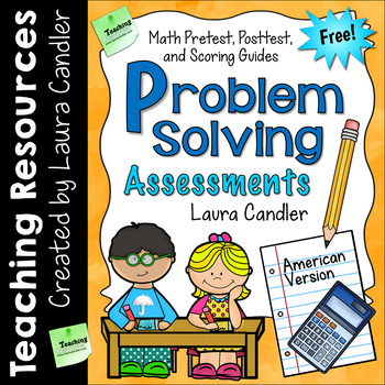 FREE Math Problem Solving Assessment Pack by Laura Candler | TpT