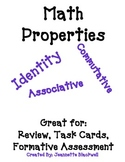 FREE Math Properties (Identity, Commutative, Associative)