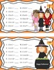 Halloween Math freebie Task Cards! Multiplication Facts! Halloween!