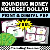 FREE Rounding Money to the Nearest Dollar, Rounding Money Games