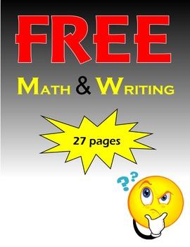 FREE Math and Writing