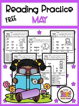 FREE May Reading Practice