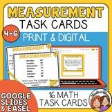 Measurement Task Cards: Grades 4-6 - FREE