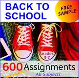 FREE - Meet the Teacher Template Editable (K-8)