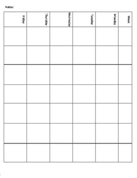 FREE - Planner Template Editable