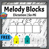 FREE Melodic Dictation Music Game | Boom Cards Primer - So Mi