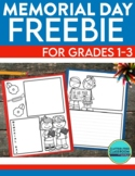FREE Memorial Day Activity Pages for 1st 2nd and 3rd Grade