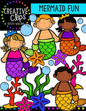 {FREE} Mermaid Fun {Creative Clips Digital Clipart}