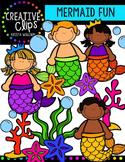 {FREE} Mermaid Fun {Creative Clips Digital Clipart}