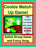 """Christmas Cookie Matching Game"" - Active Group Game, Song and Folder Games"