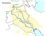 FREE - Mesopotamia Map Outline