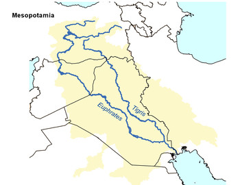 outline map of ancient mesopotamia Free Mesopotamia Map Outline By The Harstad Collection Tpt outline map of ancient mesopotamia