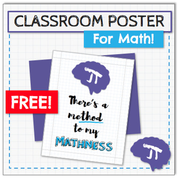 FREE Method To My Mathness POSTER