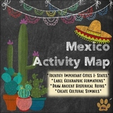 FREE Mexico Activity Map (ALL Spanish Levels)