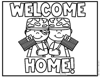 Free Military Coloring Pages Veteran S Day Memorial Day Homecoming