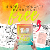 FREE Mindful Thoughts Membership - Perfect for Distance Le