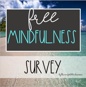 FREE Mindfulness Survey