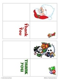 FREE Mini Christmas Gift Thank You Cards to Give Your Students