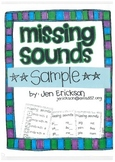 **FREE** Missing Sounds Sample Packet