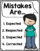 FREE Mistakes Are Posters for Growth Mindset