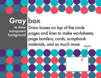 FREE! Modern Deco, Fresh & Fun Clip Art, Borders & Backgrounds – Easy Printing