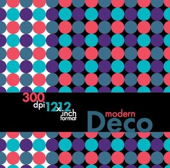 FREE! Modern Deco, Fresh & Fun Clip Art, Borders & Backgro
