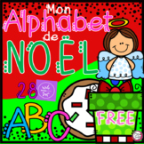 FREE Mon Alphabet de Noël • Digital Task Cards in FRENCH