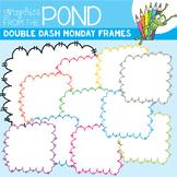Double Dash Monday Doodle Frames