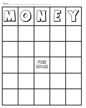 FREE Money Bingo