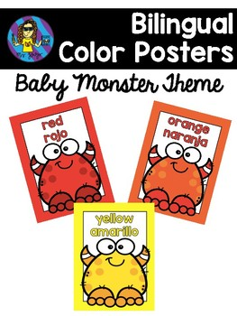 FREE Monster Color Posters