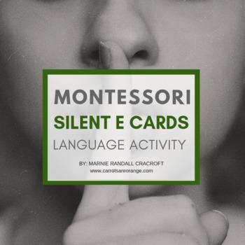 FREE Montessori Language Silent e Cards
