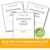 FREE Montessori Multiplication Booklets
