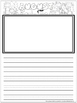 FREE! Monthly Writing Journal August & September Pages Primary & Standard Line