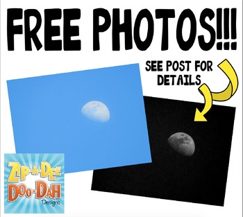 {FREE} Moon Stock Photos Pack — Includes Commercial License!