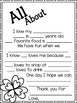 FREE Mother's Day Questionnaire Totally Elementary