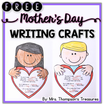 FREE Mother's Day Crafts