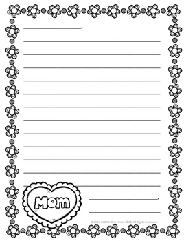 FREE Mother's Day Writing Prompts