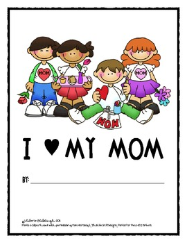 FREE Mother's Day Activity - Mom Survey & Class Book